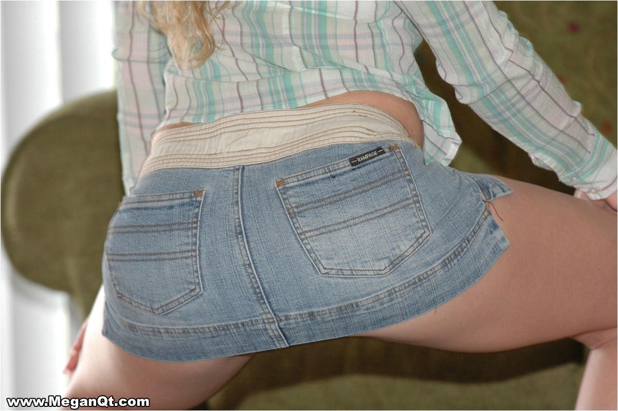 Think, megan qt short skirt not take